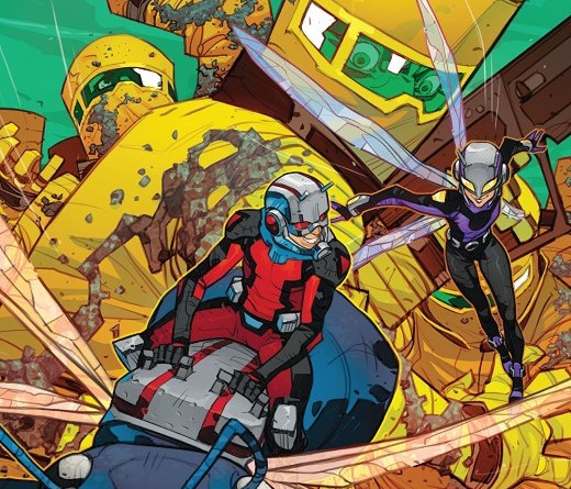 Ant-Man #1 cover by Eduard Petrovich