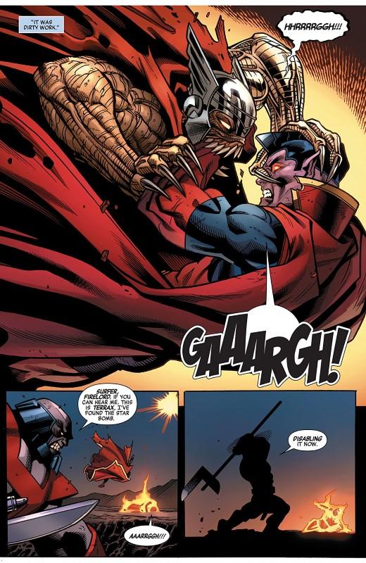 Avengers #30 art by Ed McGuinness, Francesco Manna, Mark Morales, Jason Keith, and letterer VC's Cory Petit