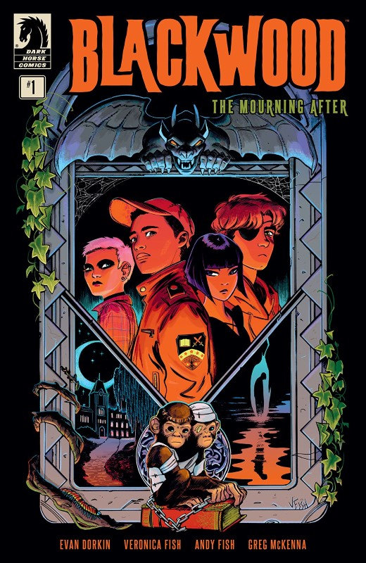 Blackwood: The Mourning After #1 cover by Veronica Fish