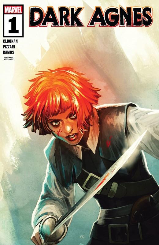 Dark Agnes #1 cover by Stephanie Hans