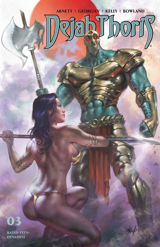 Dejah Thoris #3 cover by Lucio Parrillo