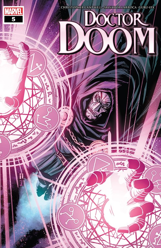 Doctor Doom #5 cover by Tomm Coker and Michael Garland