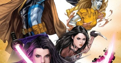 Fallen Angels #6 cover by Ashley Witter