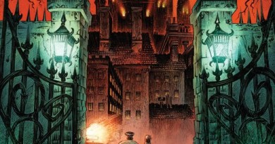 Ravencroft #1 cover by Kyle Hotz with Dan Brown