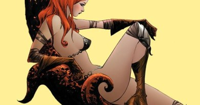 Red Sonja #13 cover by Jae Lee and June Chung