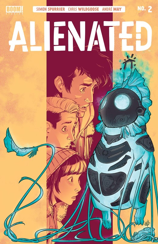 Alienated #2 cover by Chris Wildgoose