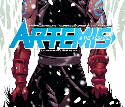 Artemis and the Assassin #1 cover by Phil Hester and Mark Englert