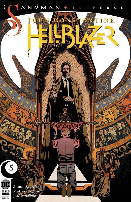 John Constantine: Hellblazer #5 cover by John Paul Leon
