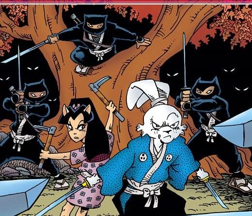 Usagi Yojimbo #9 cover by Stan Sakai and Tom Luth