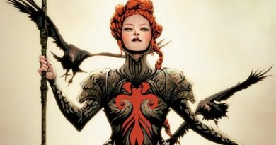 Red Sonja #15 cover by Jae Lee and June Chung