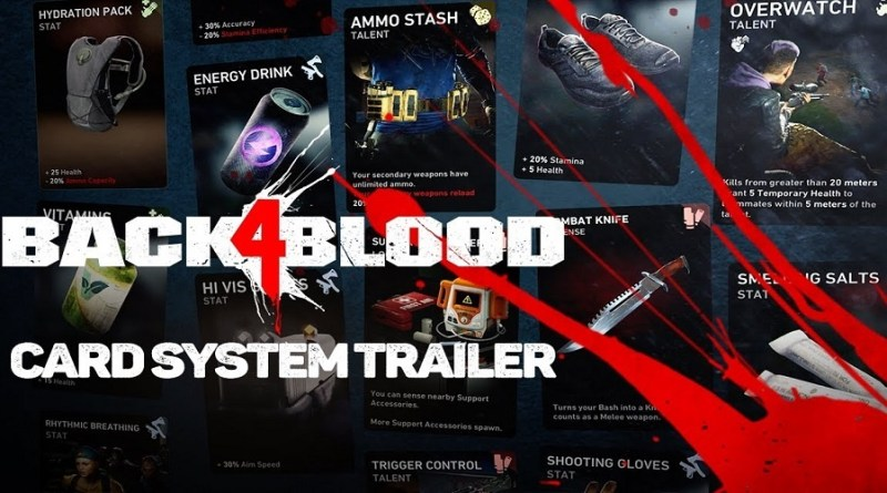 Back 4 Blood Card System Feature Image