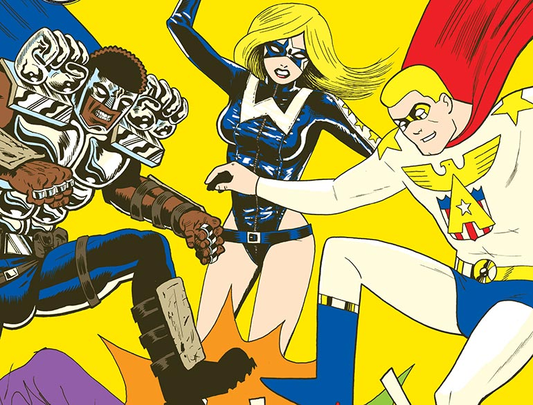 Interview: Josh Bayer Unveils The ALL TIME COMICS Universe