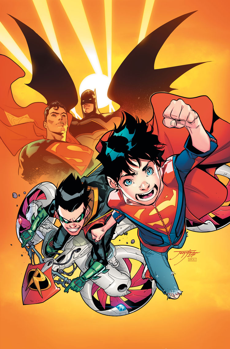 First Look: SUPER-SONS #1