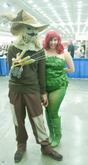 Scarecrow and Poison Ivy