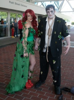 Poison Ivy and Solomon Grundy