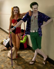 Beach Party Harley and Joker