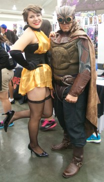 Silk Spectre and Nite Owl