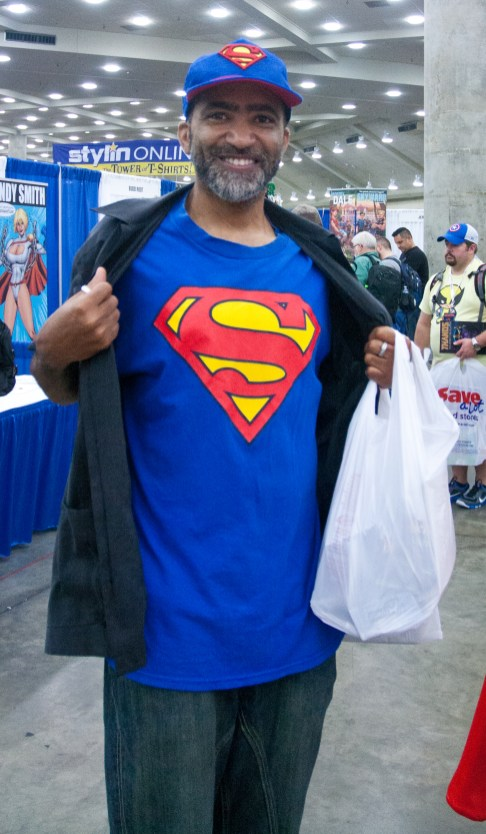 Bearded Superman