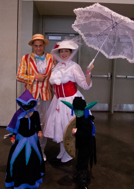 Bert, Mary Poppins, and a threat