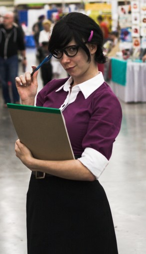 Miss Pauling from Team Fortress 2