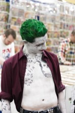 Joker admiring Harley