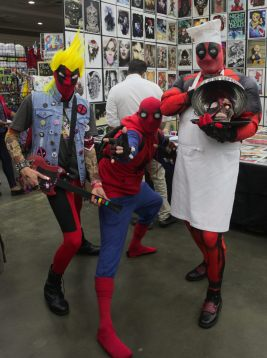 A chimichanga of Deadpools