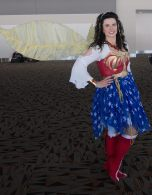 This Wonder Woman doesn't need an invisible jet!