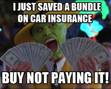 car insurance meme