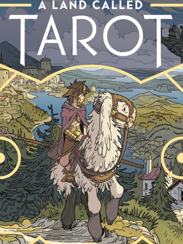 A land called Tarot cover