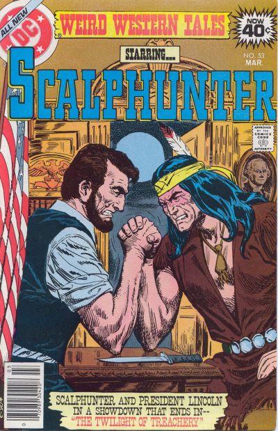 scalphunter 53 abraham lincolnc comic book