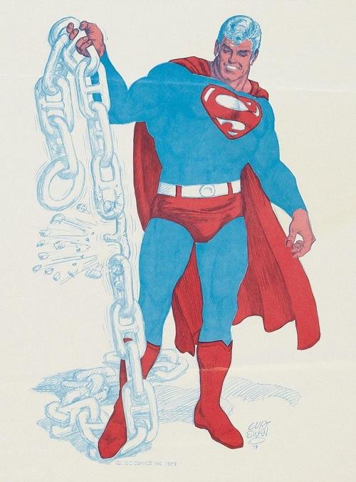 curt swan. superman. comic conventions poster art. 001.jpg