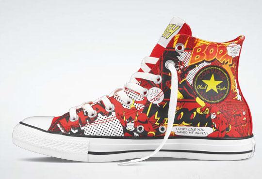 07bd3760edd8 New line of DC Comics Chuck Taylors make for stylish feet - The Beat