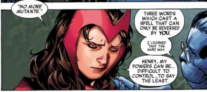 Wanda and Hank talk Decimation.
