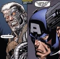 X-Sanction, Cable threatens Captain America