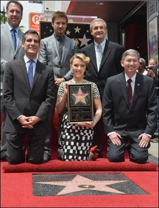 ScarJo Walk of Fame Hollywood