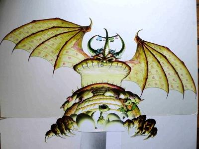 Big -She Dragon- w. babies -circa 1983 (copyright).jpeg