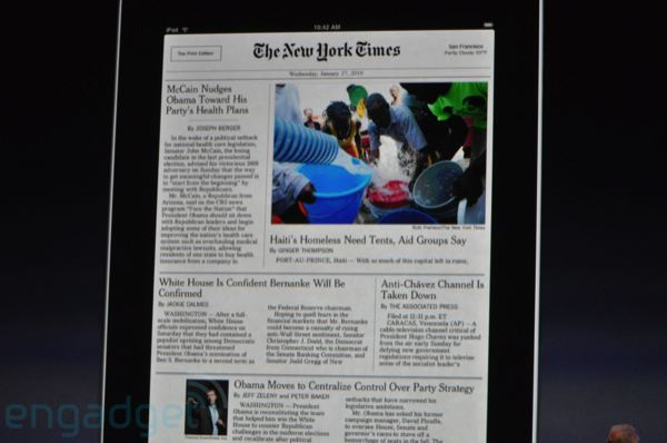 It's the iPad - updated with PRICE - The Beat