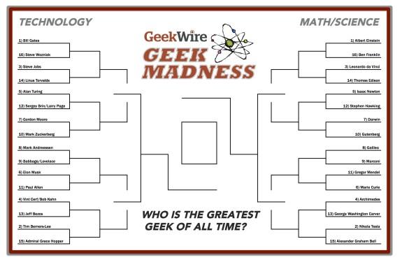 Geek bracket