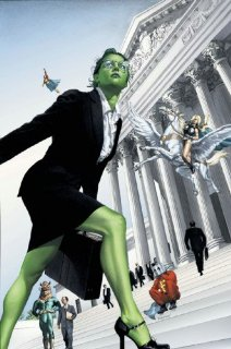 She-Hulk at court