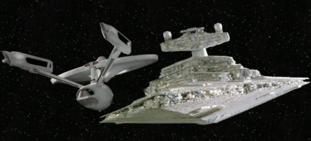 Enterprise vs Star Destroyer