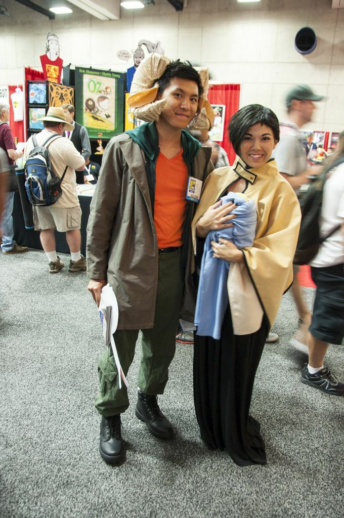 SDCC, SDCC2013, San Diego Comic Con, Saga, cosplayers, Image Comics, Marko, Alana