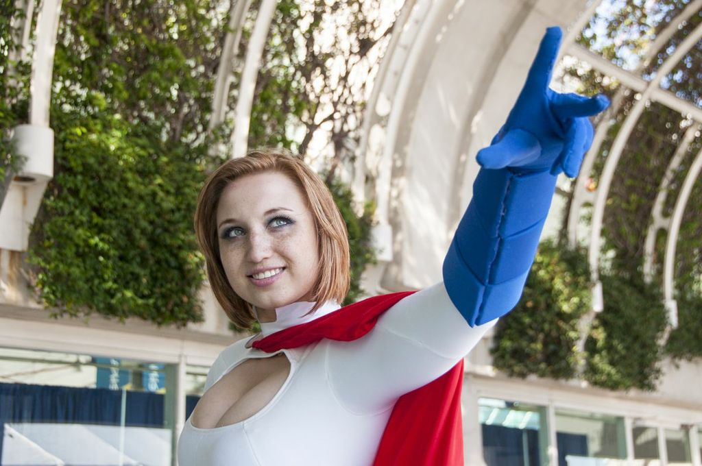 SDCC, SDCC2013, San Diego Comic Con, Powergirl, DC, cosplayer