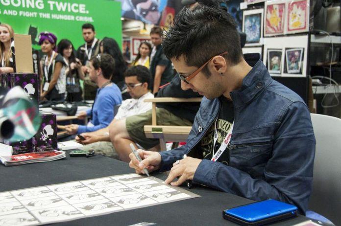 SDCC, SDCC2013, San Diego Comic Con, Jhonen Vasquez, Johnny The Homicidal Maniac, Invader Zim