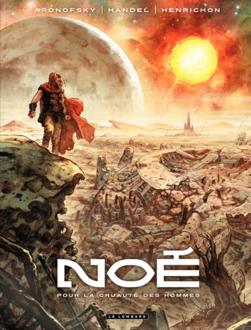 IMAGE EXPO: Niko Henrichon and Darren Aronofsky on 'Noah