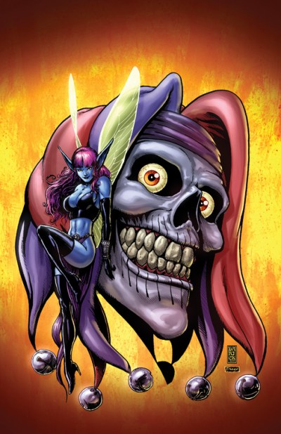 Cover to Poison Elves #2, by Darick Robertson and Diego Rodriguez