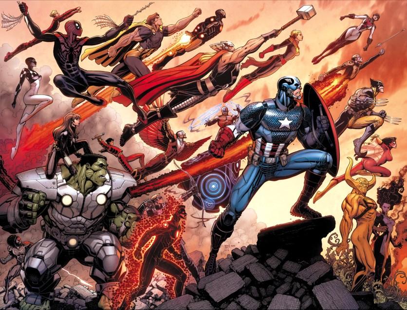 Avengers World Arthur Adams Wraparound Variant