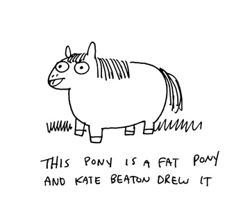 Kate Beaton Announces Fat Pony project with Scholastic