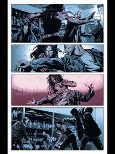 First of a three-page sequence with no dialogue.