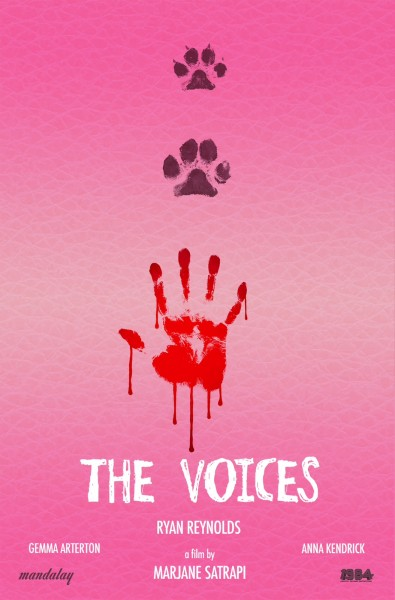 The voices teaser poster 395x600