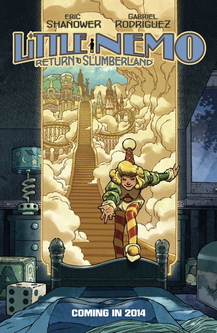 Little Nemo cover by Eric Shanower